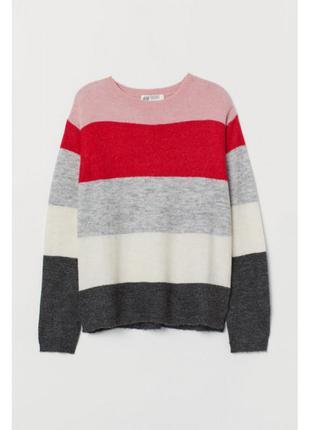 H&m свитер вязанный для девочки 8-9 лет