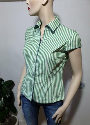 Рубашка короткий рукав van laack