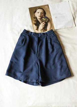 Супер стильные синие шорты skyline, размер l