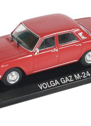 ГАЗ-24 Волга GAZ M24 (венгерская серия DeAgostini Legendas Autok)