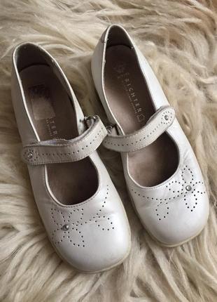 Детские туфли из натуральной кожи