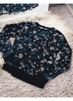Цветочный свитер от h&m