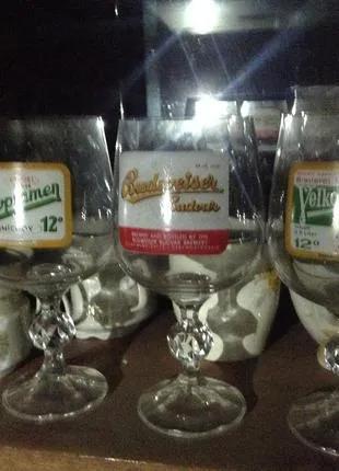 Хрустальные бокалы для пива