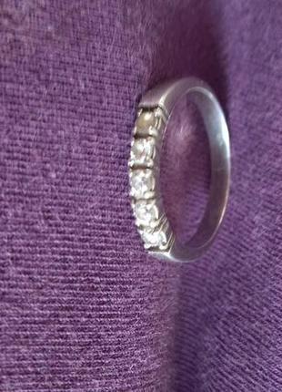 Кольцо из серебра 19.5 размер