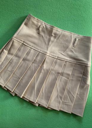 Юбка с  плиссировкой, школьная юбка