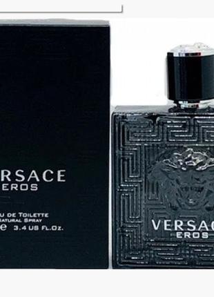 Мужская туалетная вода Versace Eros Black 100 мл