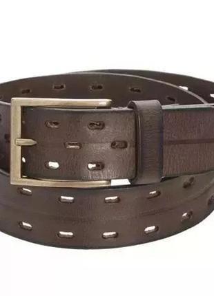 Ремень кожаный брендовый мужской james campbell оригинал из сша