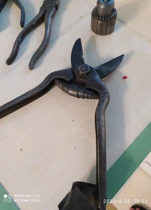 Садовые ножницы СССР