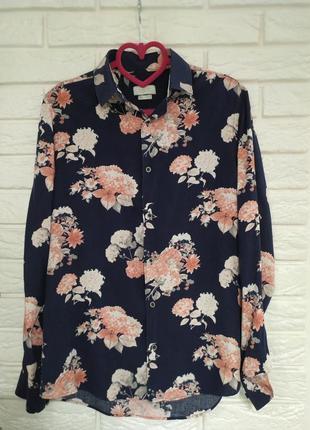 Стильная брендовая рубашка zara