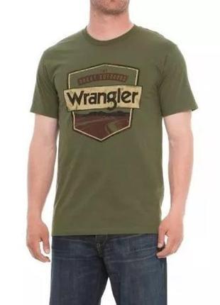 Футболка wrangler rugged wear great outdoors