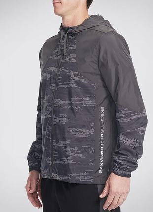 Куртка ветровка штормовка skechers оригинал из сша
