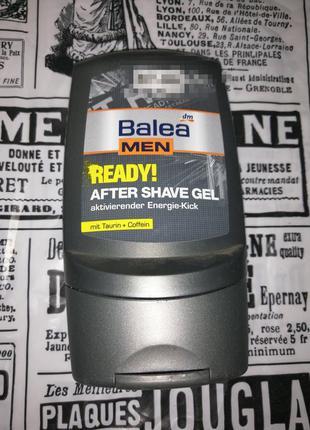 Balea men ready гель после бритья