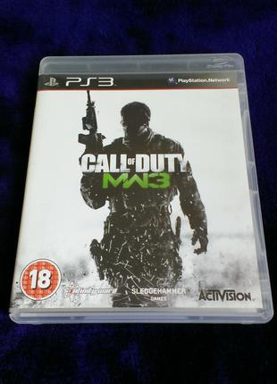 Call of Duty Modern Warfare 3 (английский язык) для PS3