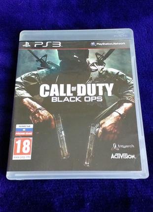 Call of Duty Black Ops (русский язык) для PS3