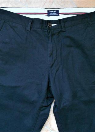 Брюки-чино  бренда gant размер w34 l32 (50-52) оригинал