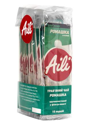 Чай Ромашка с мятой (травяной) Aili 10шт x 3г