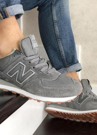 👟 кросівки чоловічі new balance 574 сірі 👟