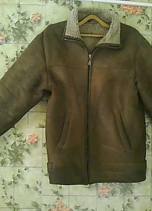 Куртка замшевая натуральный мех
