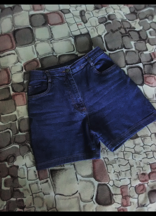 Шорты джинсовые деним