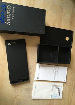 Коробка Samsung galaxy s7 edge 32gb