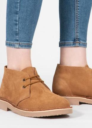 Мужские туфли ботинки дезерты roamers
