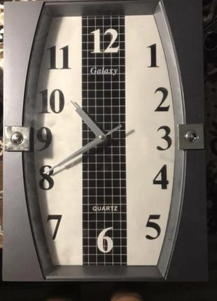 Часы на стену нерабочие 34*24 серые