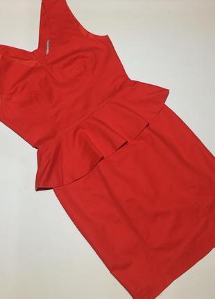 Платье с баской h&m