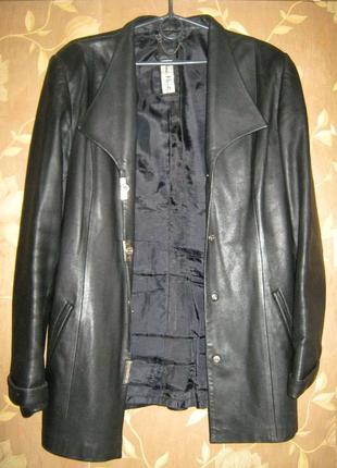 Женская куртка -пиджак иза натуральной кожи