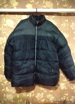 Мужская двухсторонняя зимняя куртка