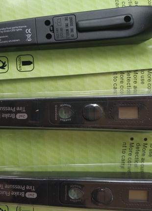 Электронный манометр и тестер тормозной жидкости