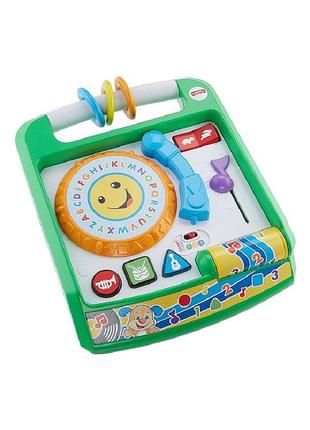 Интерактивна игрушка Fisher Price Музыкальный проигрыватель (рус)