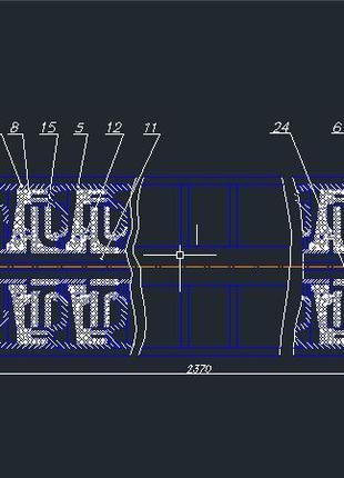 Оцифровка чертежей с фото,сканов или pdf формата в АutoCAD
