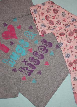 Милая котоновая пижама ф.f&f для девочки 5/6 лет р 110/116  от...