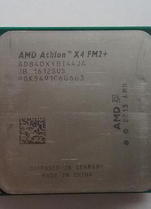 Процессор QuadCore AMD Athlon X4 840, 3100 MHz, sFM2+