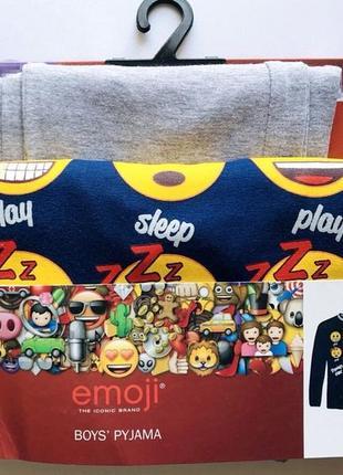 Трикотажна піжамка disney / emoji® на 2-3 та 4-5 р.