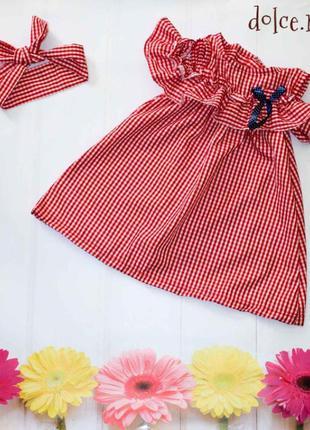 Летний сарафан для девочек 3-8лет