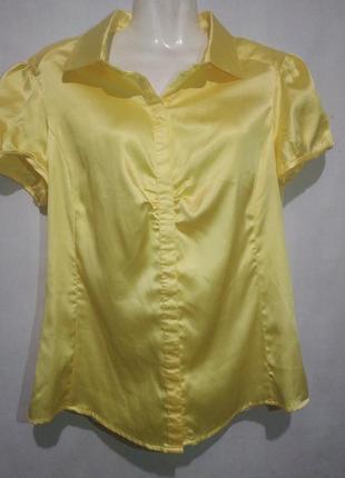 Женская блуза жёлтая
