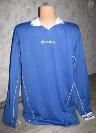 Спортивная футболка с длинным рукавом xxl р. 52-54  masita коф...
