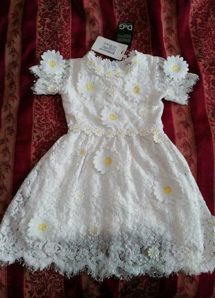Платья детские от Dolce and Gabbana