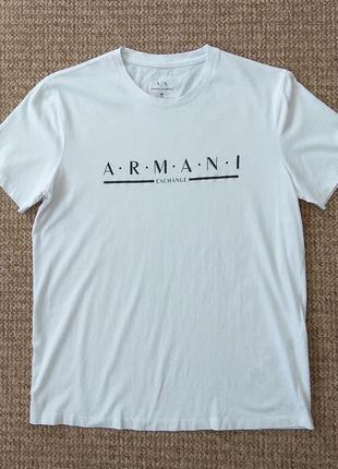 Armani exchange футболка slim fit оригинал (m)