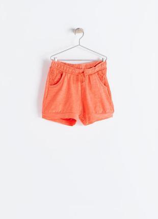 Стильные шорты для девочек zara испания