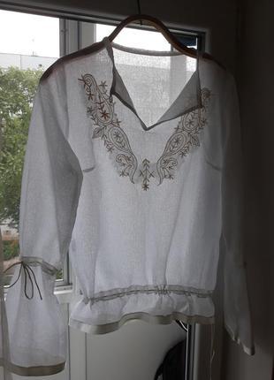 Легкая, воздушная блузка\рубашка