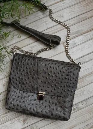 Кожаная женская сумочка сумка