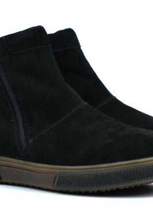 Зимние замшевые ботинки угги мужская обувь