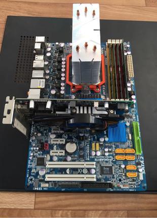 Игровой компьютер разборка ПК материнская плата процессор видеока