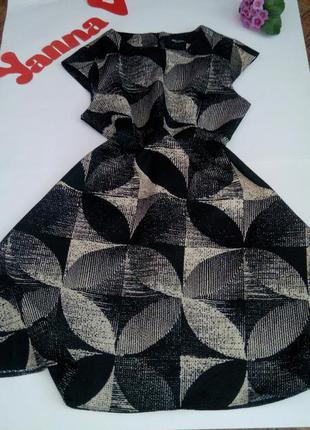Платье миди нарядное офисное 50  размер бюстье крутое новое тр...