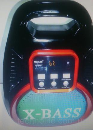 Портативная система GOLON RX-820BT (колонка, микрофон, караоке )