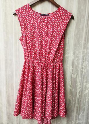 Платье летнее с открытой спиной
