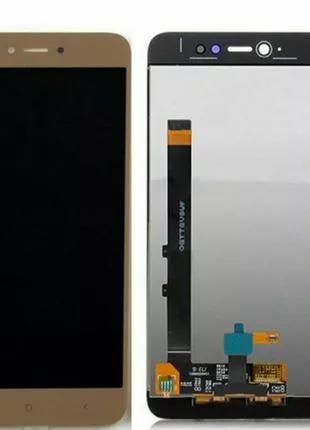 Дисплейный модуль Xiaomi Redmi Note 5A Standart, Y1 Lite gold