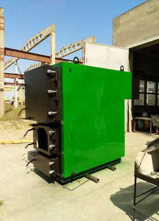 Твердотопливный котел 700 кВт длительного горения, пеллетный к...